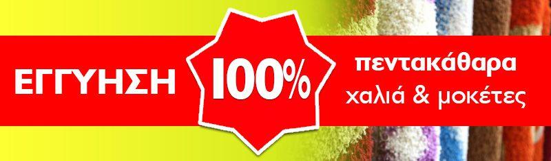 Εγγύηση 100% πεντακάθαρα χαλιά & μοκέτες - Ταπητοκαθαριστήριο Κέντρο Καθαρισμού Χαλιών